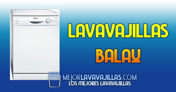 Lavavajillas Balay